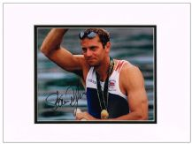 Steve Redgrave Autograph Photo - Rowing